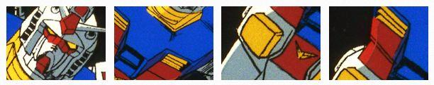 3 màu sắc chủ đạo tạo nên Gundam