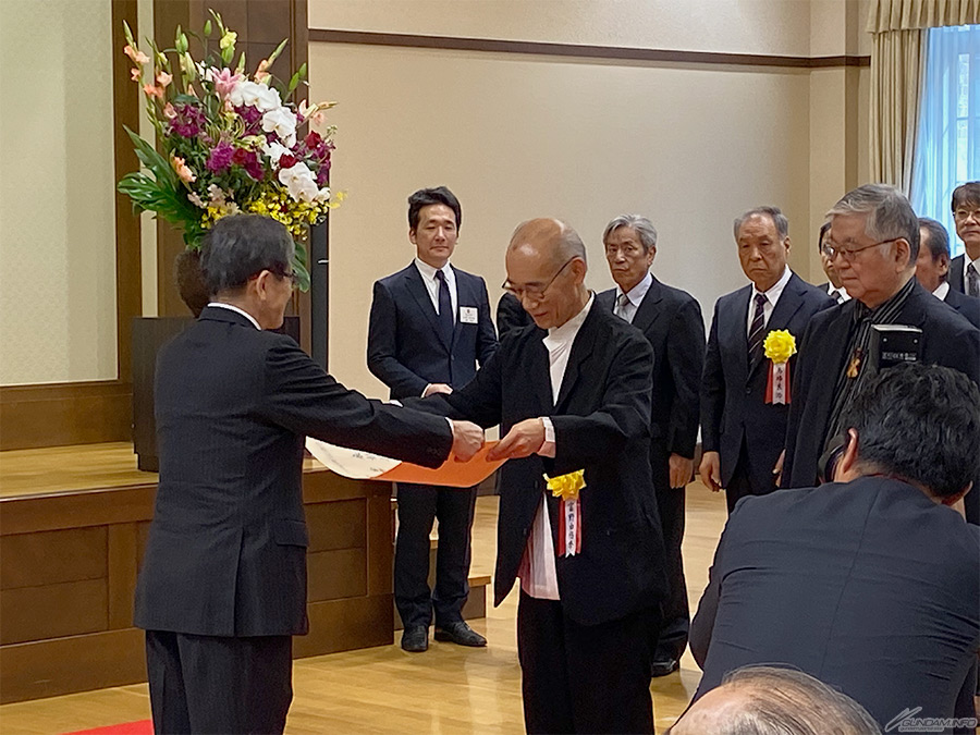 Đạo diễn Yoshiyuki Tomino vinh dự nhận giải thưởng Reiwa