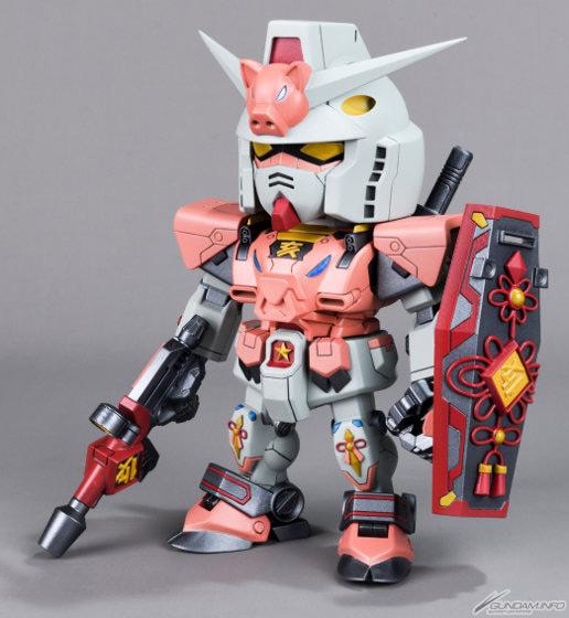 Gundam cung hoàng đạo: cụ tổ custom heo vàng phiên bản giới hạn 2