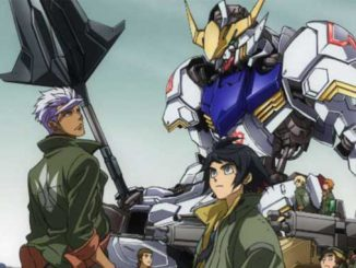 Mobile suit IRON-BLOODED ORPHANS 12