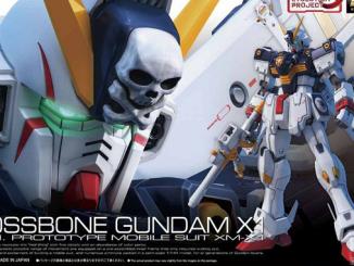 Mở hộp 1 144 RG Crossbone Gundam X1 2