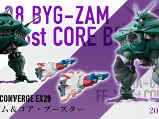 FW CONVERGE EX29 Big-Zam & Core Booster mở bán tháng 3 năm 2020 4