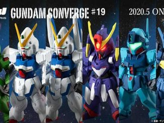 Bộ FW GUNDAM CONVERGE thứ 18 đã phát hành. 6 loại có luôn V2 Gundam và Kämpfer 6