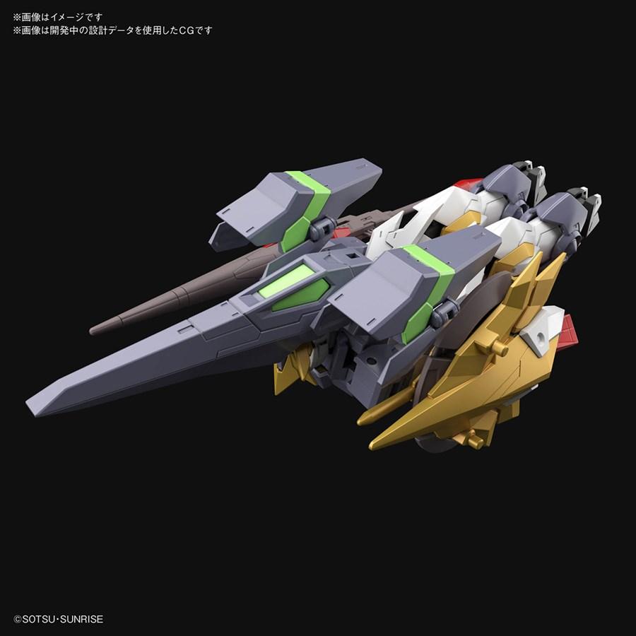 HGBD R Gundam Aegis Knight dạng phi thuyền chiến đấu
