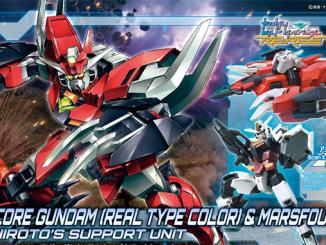 HG Core Gundam (Real Type Color) trong hộp có gì ? 16