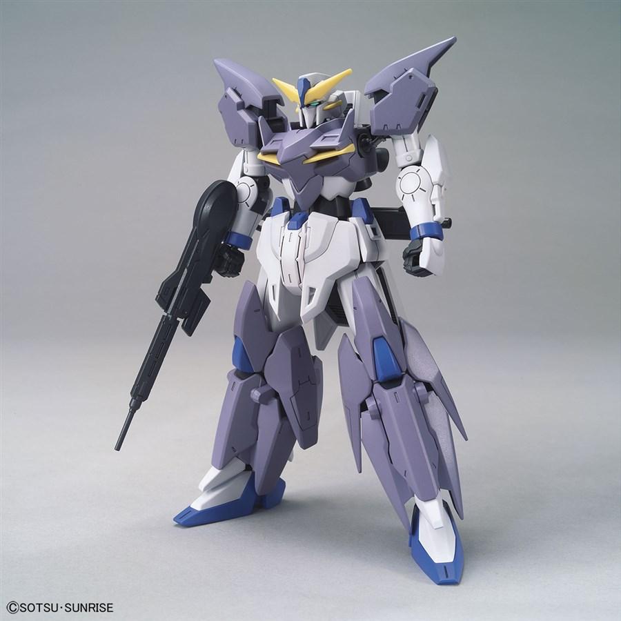 Gundam Tertium mặt trước