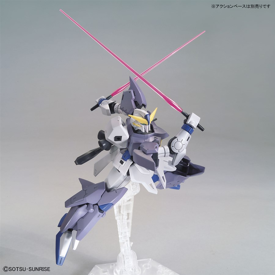 Gundam Tertium với laser beam