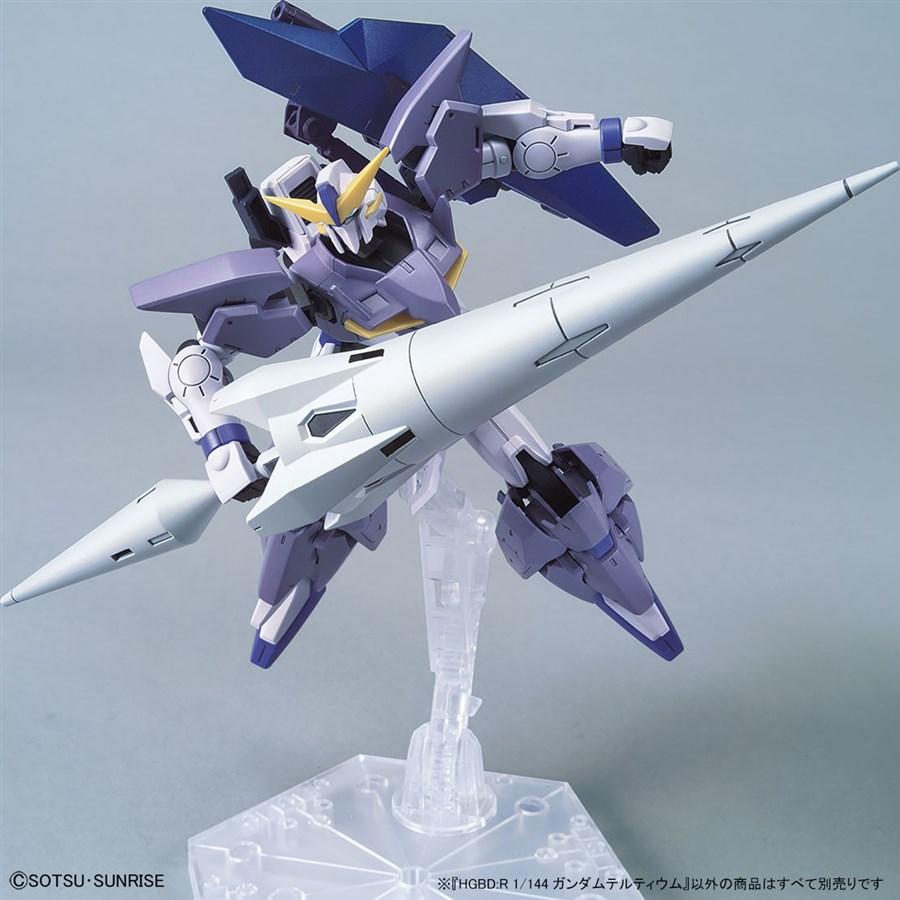 Gundam Tertium với seltsam arms