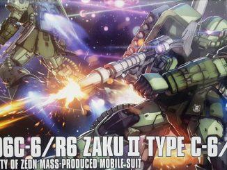 HG Zaku II Type C6-R6 có gì trong hộp ? 9