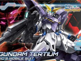 Mở hộp HGBD: R Gundam Tertium 11