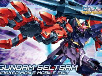 HGBD R Gundam Seltzam unboxing 10