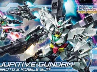 Khui hộp HGBD-R Jupitive Gundam phát hành năm 2020 10