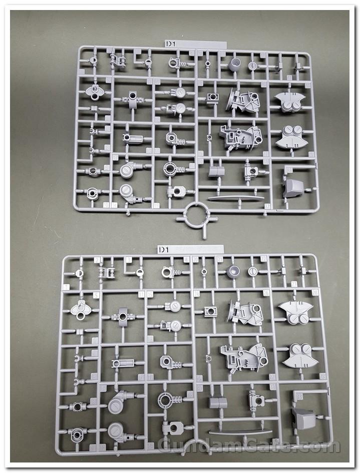 RE 100 Zaku II Kai 2020 mở hộp 5