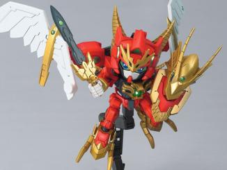 SD Gundam Valkylander unboxing 10