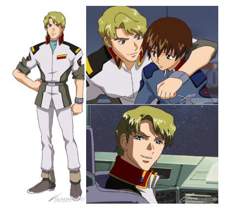 GundamGate - Hình tượng anh cả - Mula Flaga