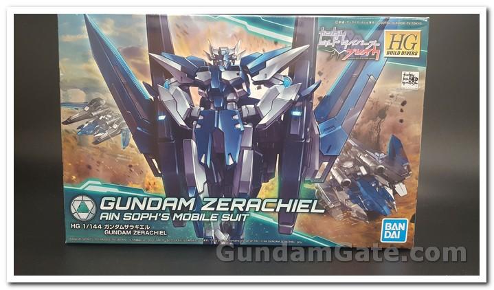 Mở hộp 1/144 HGBD Gundam Zerachiel 1