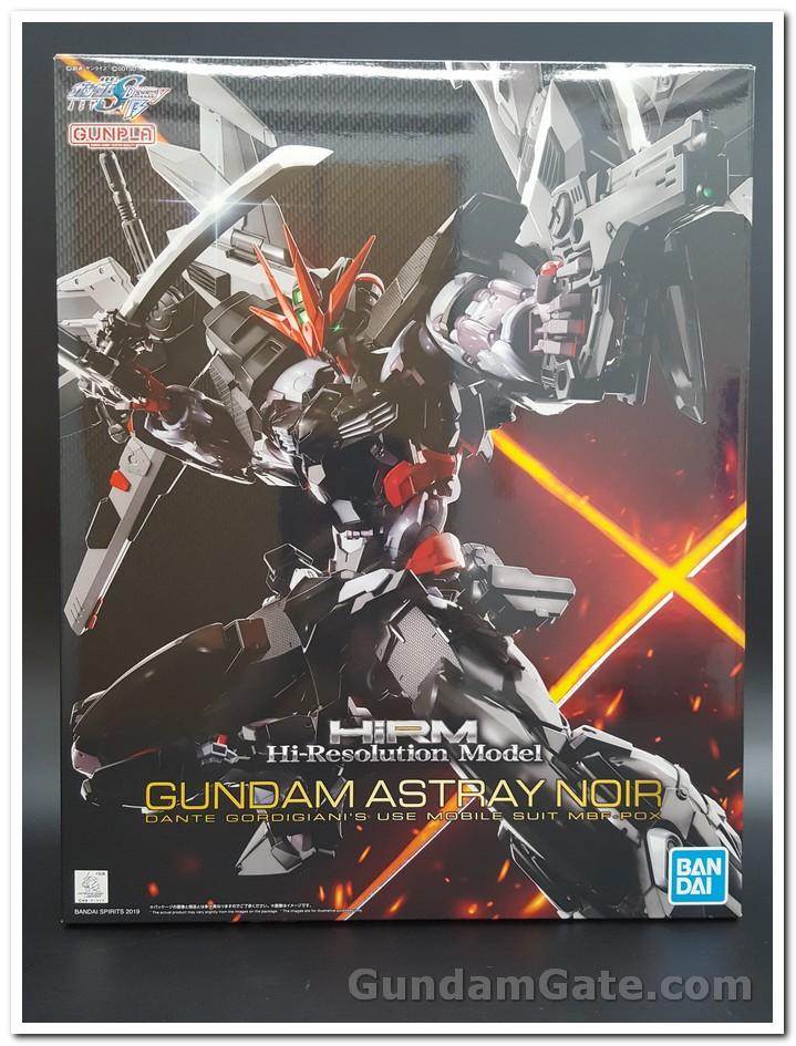 Nào cùng khui 1/100 Hi-Resolution Model Gundam Astray Noir 1