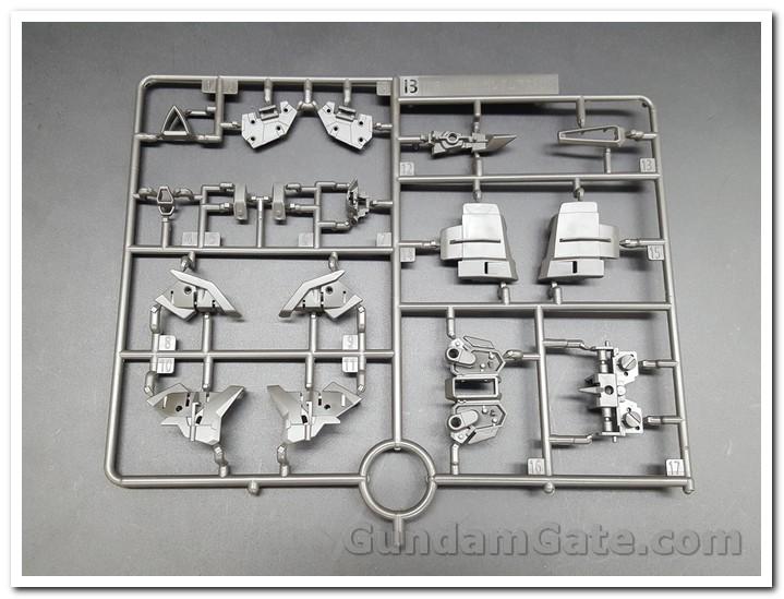 Nào cùng khui 1/100 Hi-Resolution Model Gundam Astray Noir 5