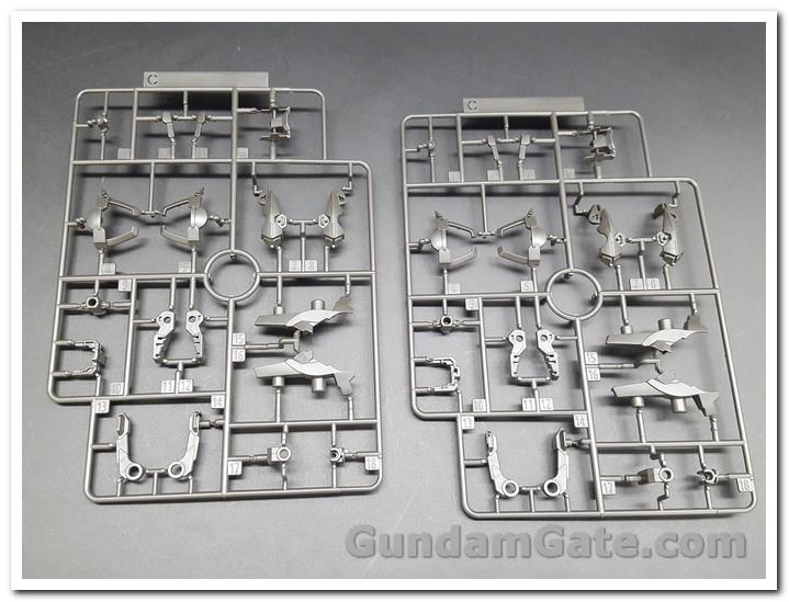Nào cùng khui 1/100 Hi-Resolution Model Gundam Astray Noir 6