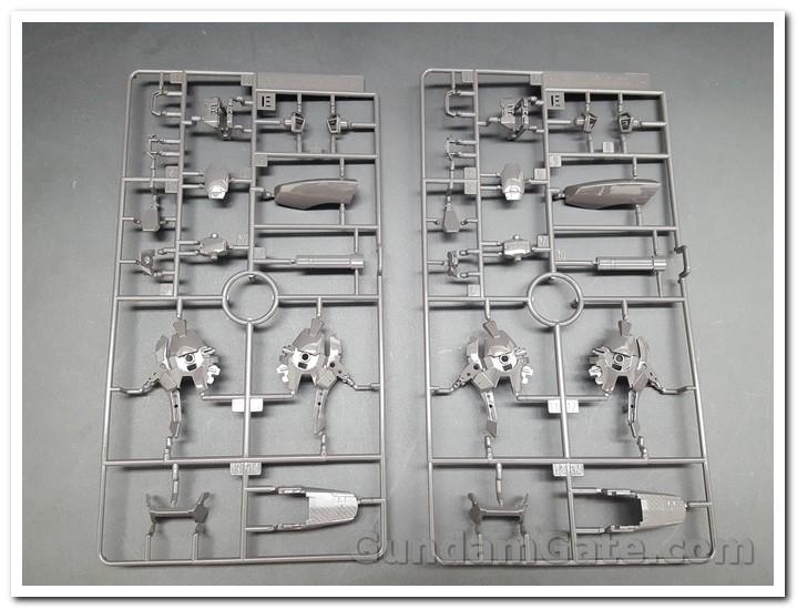 Nào cùng khui 1/100 Hi-Resolution Model Gundam Astray Noir 8
