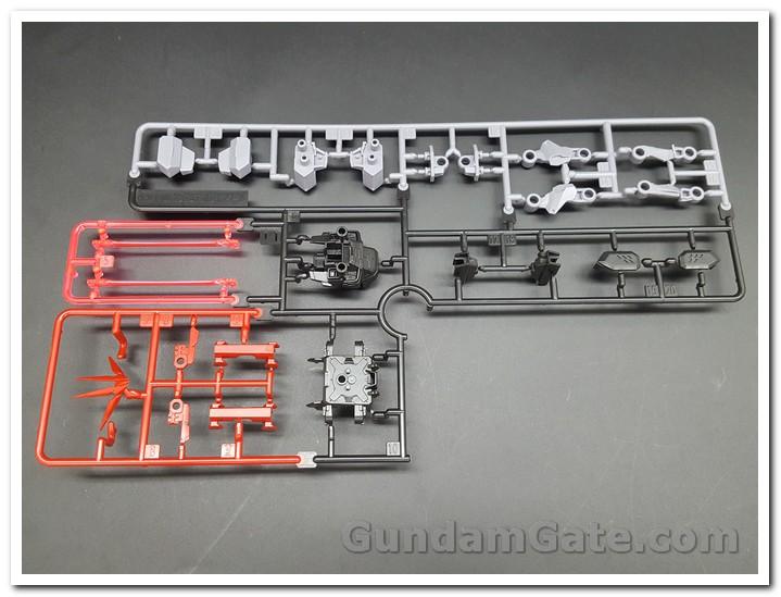 Nào cùng khui 1/100 Hi-Resolution Model Gundam Astray Noir 12