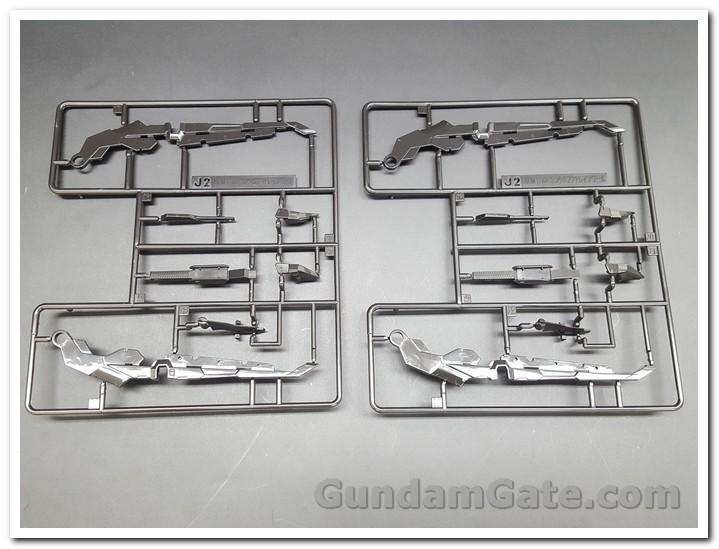 Nào cùng khui 1/100 Hi-Resolution Model Gundam Astray Noir 14
