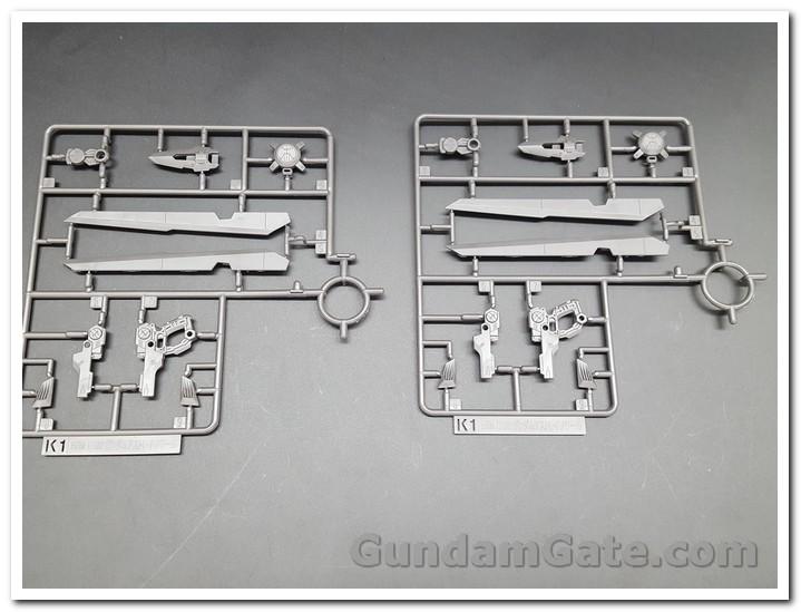 Nào cùng khui 1/100 Hi-Resolution Model Gundam Astray Noir 15