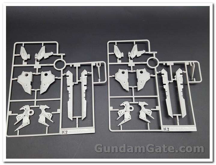 Nào cùng khui 1/100 Hi-Resolution Model Gundam Astray Noir 16