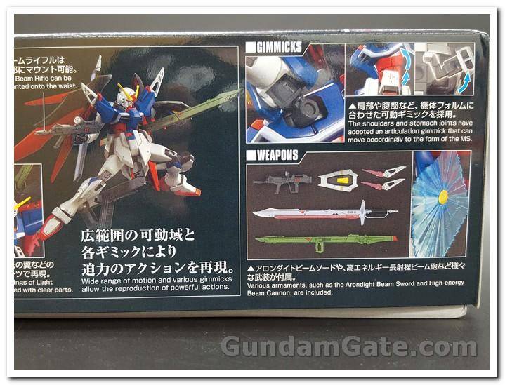 Hình ảnh các loại vũ khí và giáp của HGCE Destiny Gundam