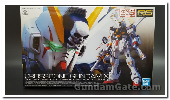 Hộp RG Crossbone Gundam X1