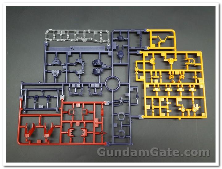 Mở hộp 1 144 RG Crossbone Gundam X1 1