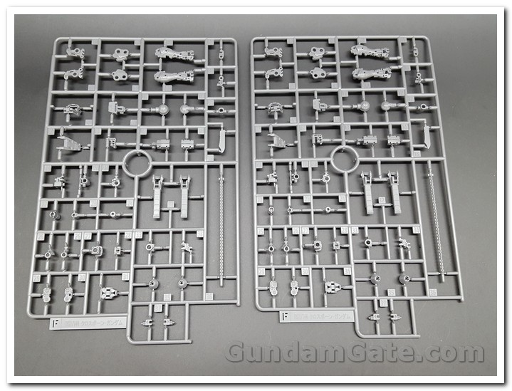 Mở hộp 1 144 RG Crossbone Gundam X1 4