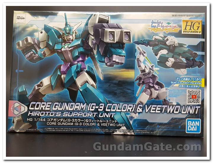 Mở hộp Core Gundam G3 và Veetwo Unit 1