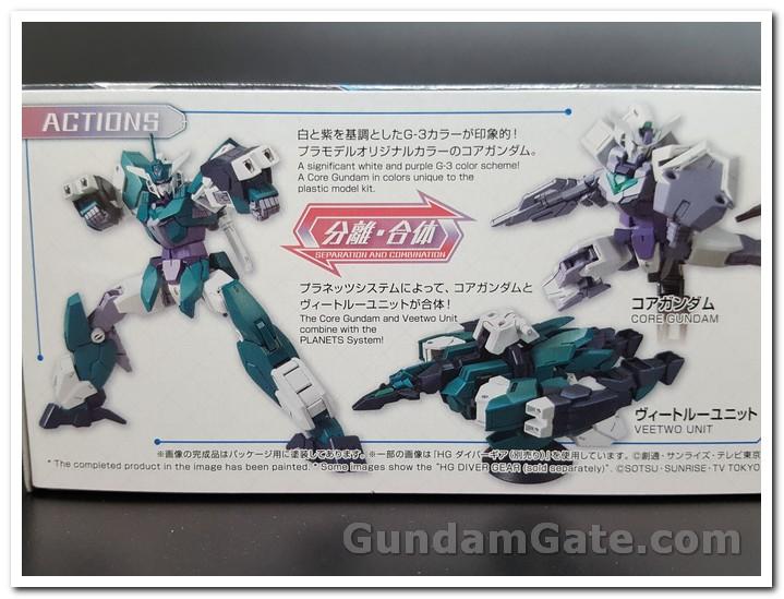 Mở hộp Core Gundam G3 và Veetwo Unit 2