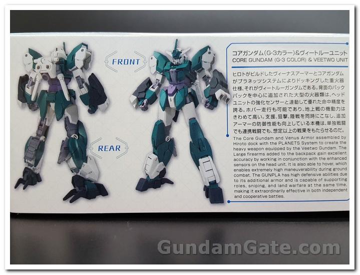 Mở hộp Core Gundam G3 và Veetwo Unit 4