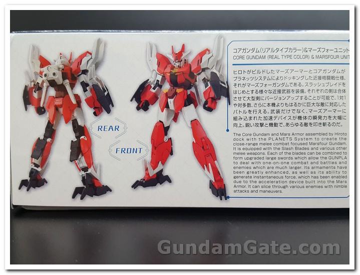 HG Core Gundam (Real Type Color) trong hộp có gì ? 1