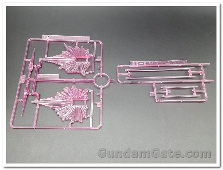HGBD:R Jupitive Gundam part clear