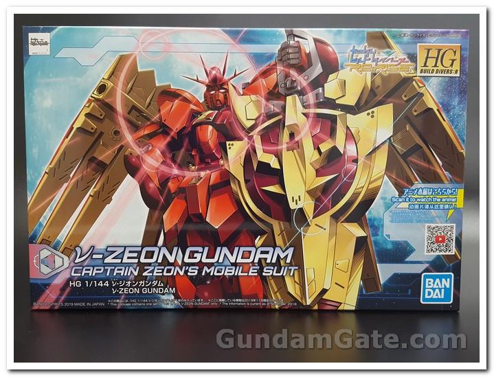 hôp của HG Nu-Zeon Gundam