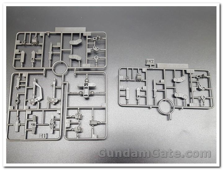 Đập hộp HG Nu-Zeon Gundam 8