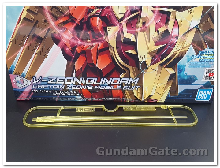 Đập hộp HG Nu-Zeon Gundam 9
