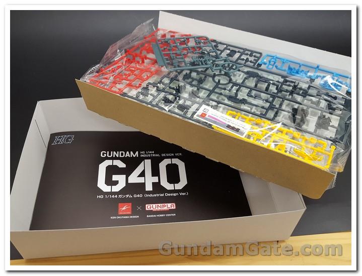 tập sách đặc biệt HG Gundam G40 Industrial Design