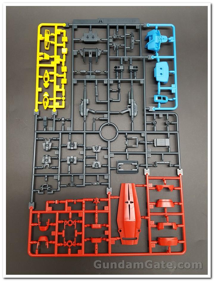 runner HG Gundam G40 Industrial Design có màu sắc khá đẹp