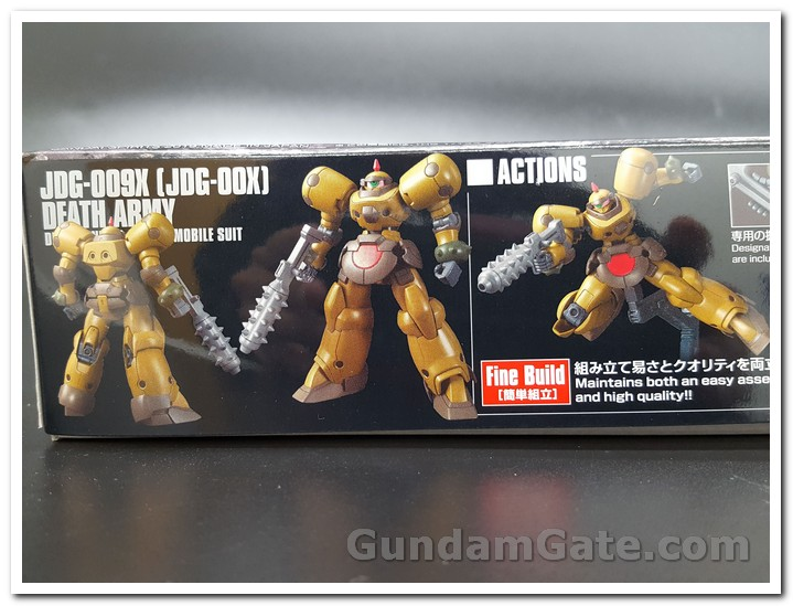 mặt hộp HGFC Death Army