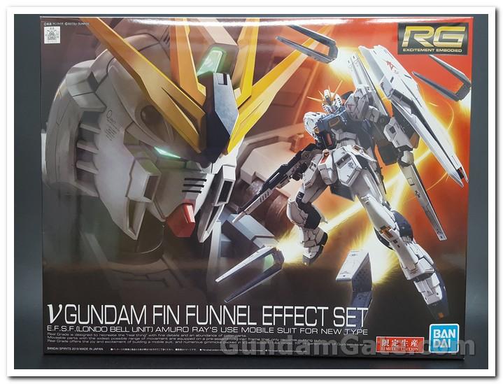 hộp RG Nu Gundam Fin Funnel Effect