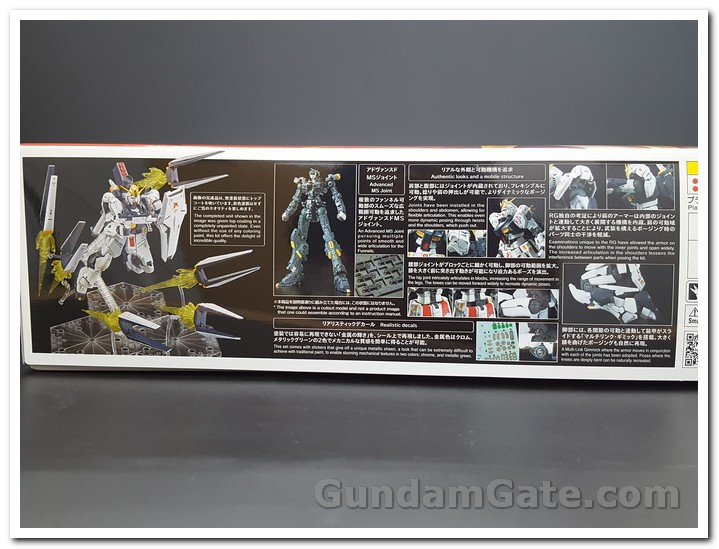 Khui hộp RG Nu Gundam Fin Funnel Effect Set 1
