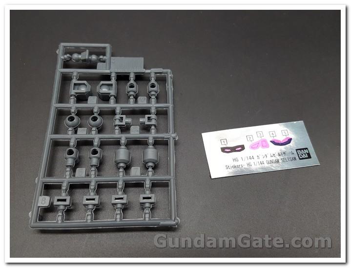 polycaps nhiều nhựa thừa HGBD R Gundam Seltzam
