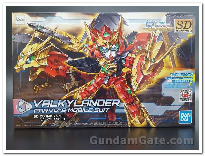 SD Gundam Valkylander