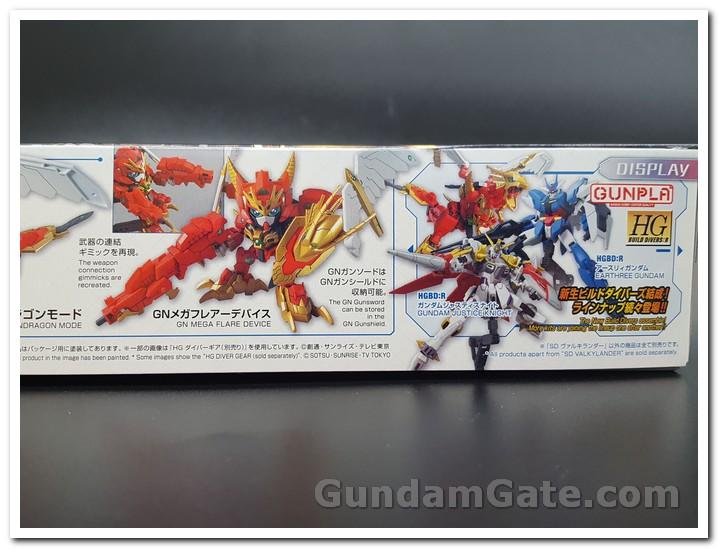 mặt hông hộp SD Gundam Valkylander