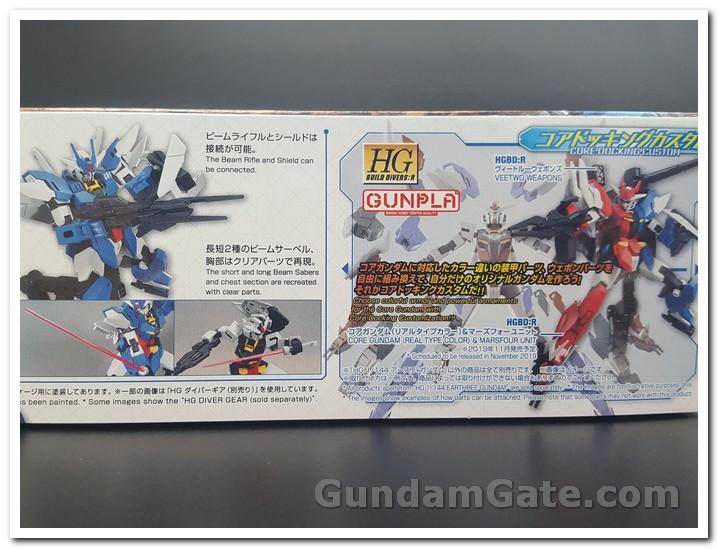 Khui hộp HDBD-R Earthree Gundam 1
