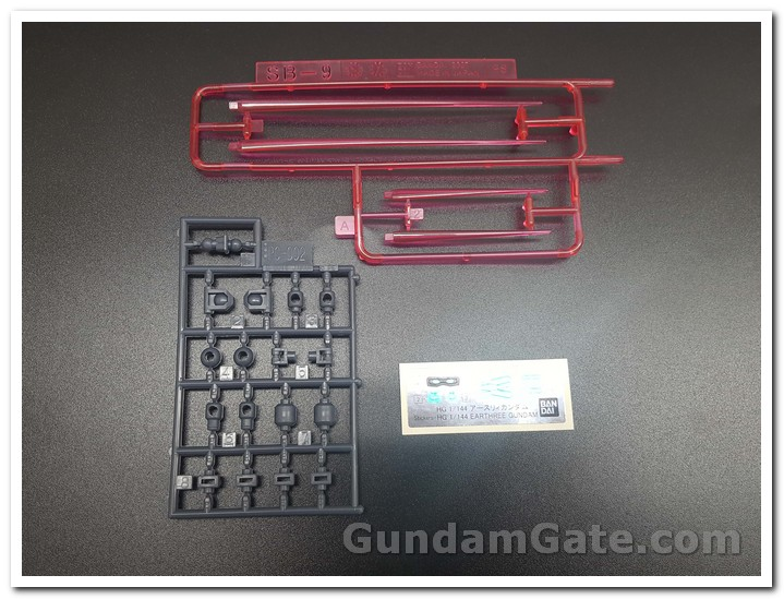 HDBD-R Earthree Gundam part clear